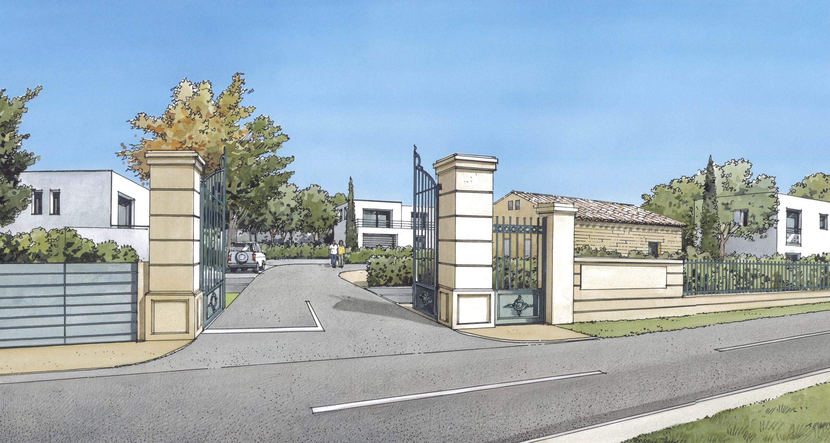 Lotissement L'OPEN à Morieres les Avignon