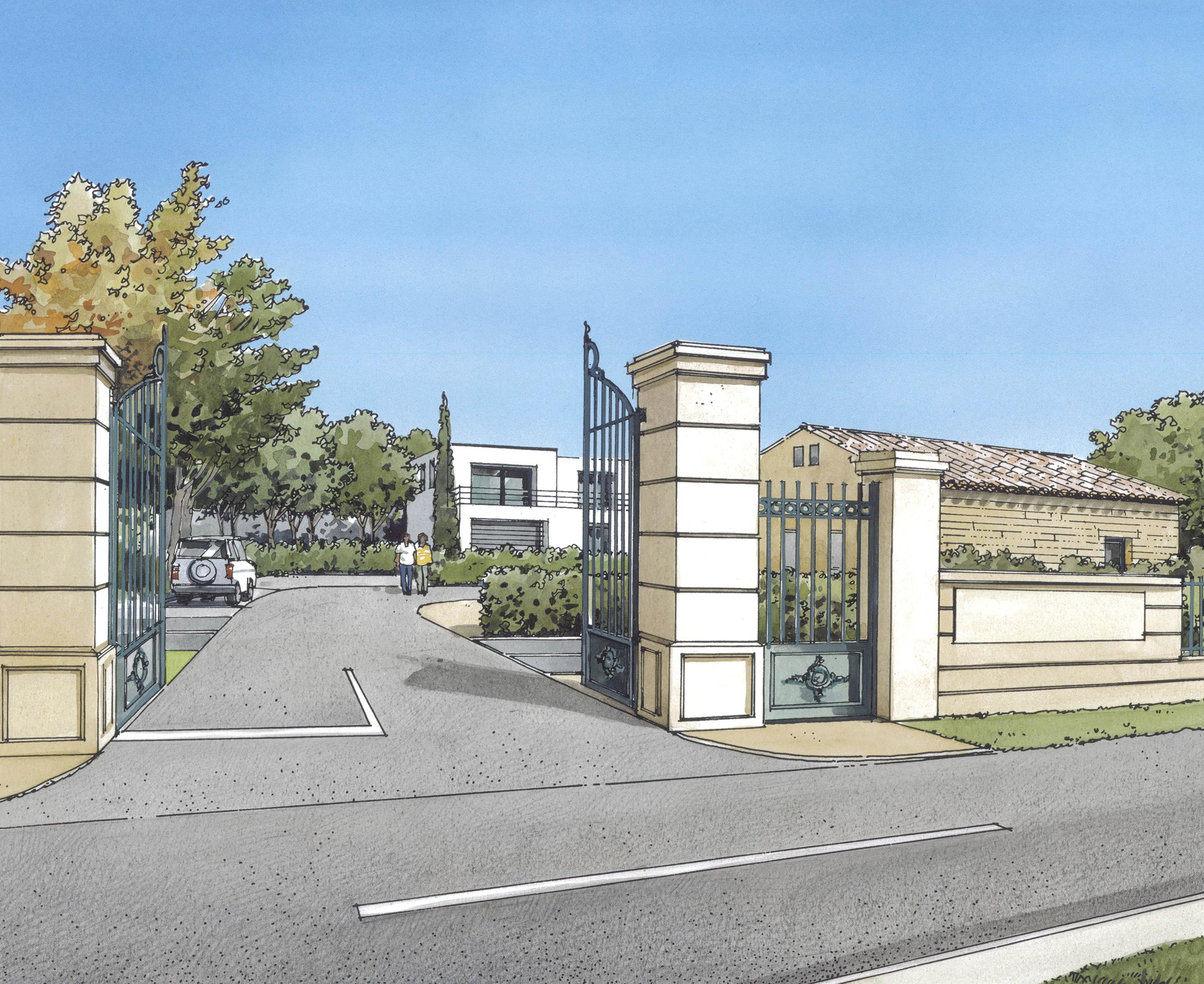 Perspective L'Open à Morières-les-Avignon