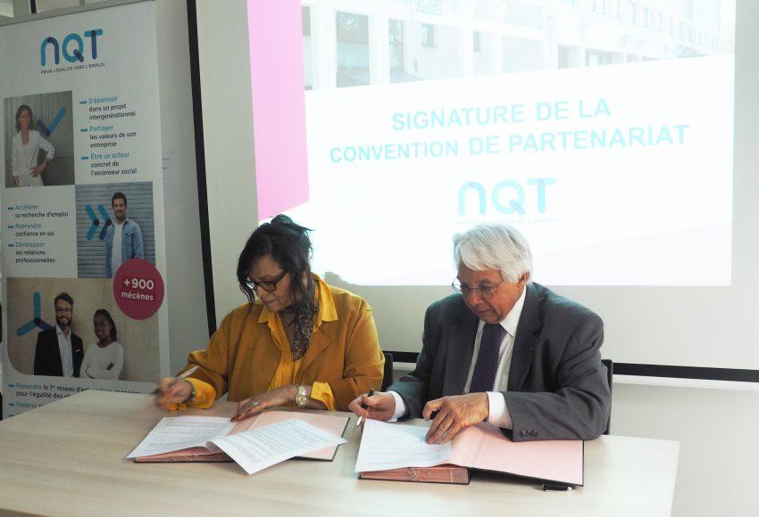 Signature de convention de partenariat GDH NQT