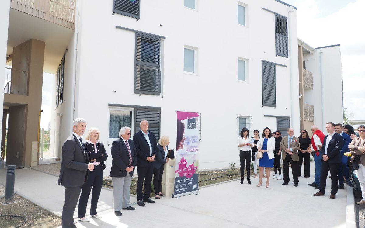 inauguration résidence L'Autan - GDH