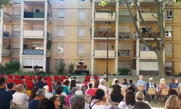 Orchestre à la résidence La Barbière